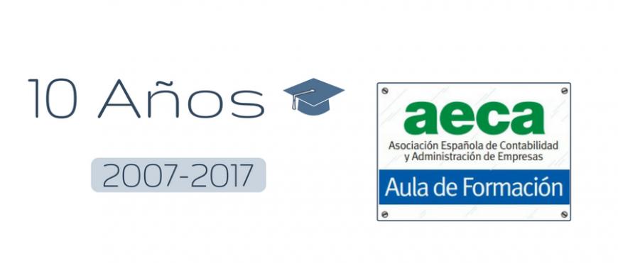Aula de Formación AECA: 10 años formando profesionales