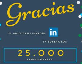 Más de 25.300 razones para pertenecer al grupo de AECA en LinkedIn