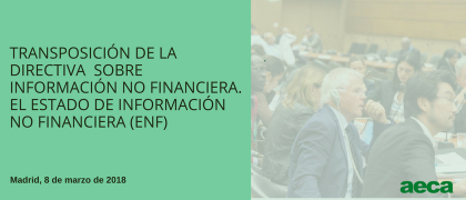 Jornada AECA sobre Información Integrada -  (Nota prensa, crónica fotográfica y vídeo disponibles)
