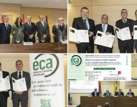 Primeros Expertos Contables Acreditados‐ECA en España (Entrega de diplomas ECA 2015)