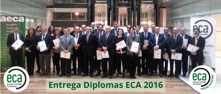 Entrega de Diplomas a la segunda promoción de Expertos Contables Acreditados-ECA® en España