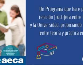 Programa Internacional Becas AECA (PIBE). 23ª edición – 2016