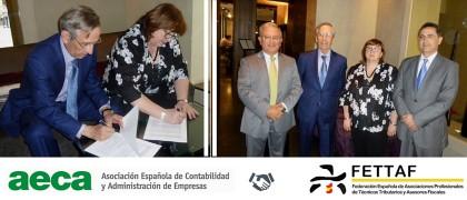 FETTAF y AECA firman un acuerdo de colaboración - Experto Contable Acreditado ECA®