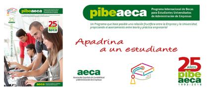 """""""Apadrina un estudiante"""" 25º Aniversario PIBE"""