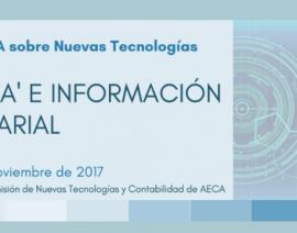 Jornada AECA 'Big Data' e Información Empresarial