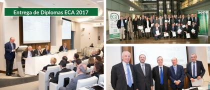 Entrega de Diplomas a la tercera promoción de Expertos Contables Acreditados-ECA®