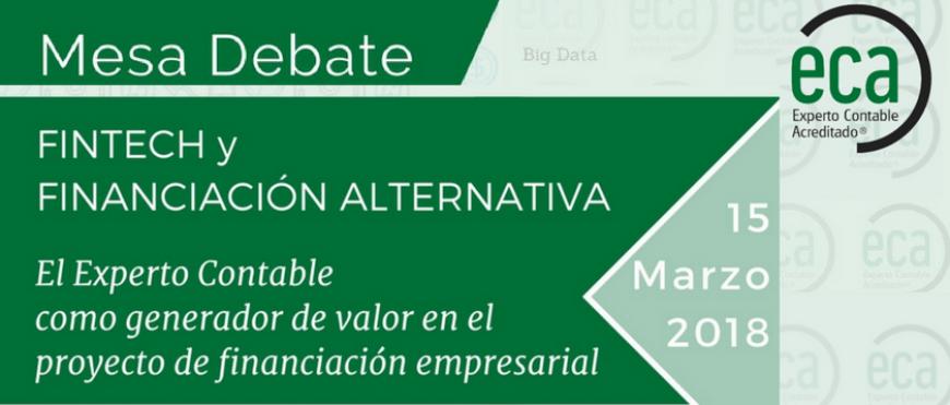 Mesa redonda: Fintech y la Financiación Alternativa