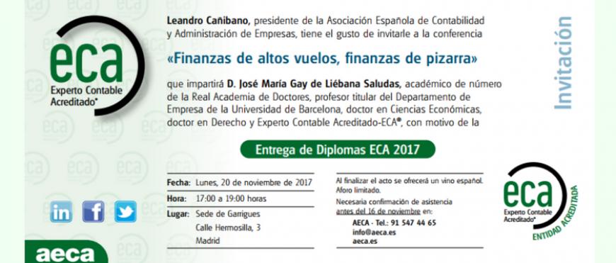 Entrega de Diplomas ECA® 2017