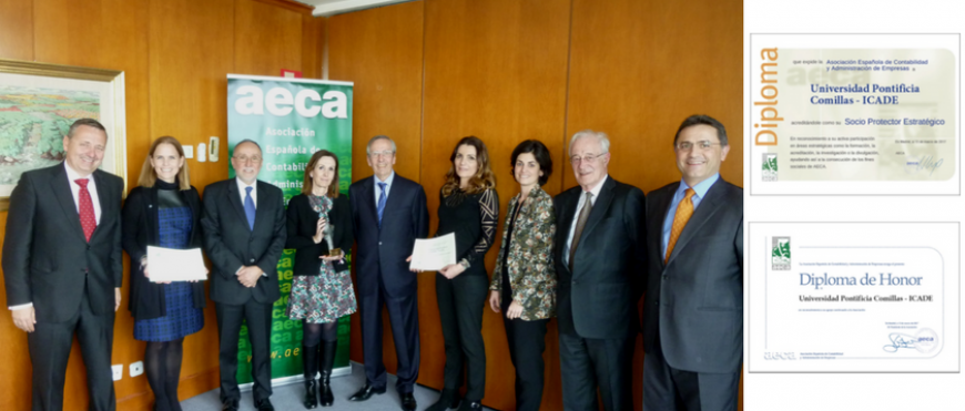 Universidad Pontificia Comillas – ICADE, Socio Protector Estratégico de AECA