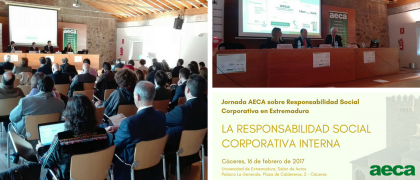 Jornada AECA en Extremadura: La Responsabilidad Social Corporativa Interna