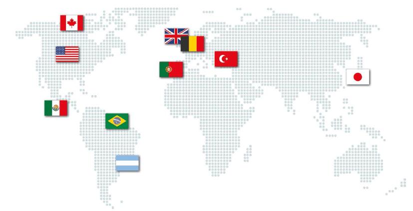 Mapa Relaciones Institucionales