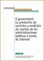 E-government: La prestación de servicios y rendición de cuentas de las administraciones públicas a través de Internet