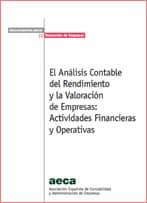 El Análisis Contable del Rendimiento y la Valoración de Empresas: Actividades Financieras y Operativas