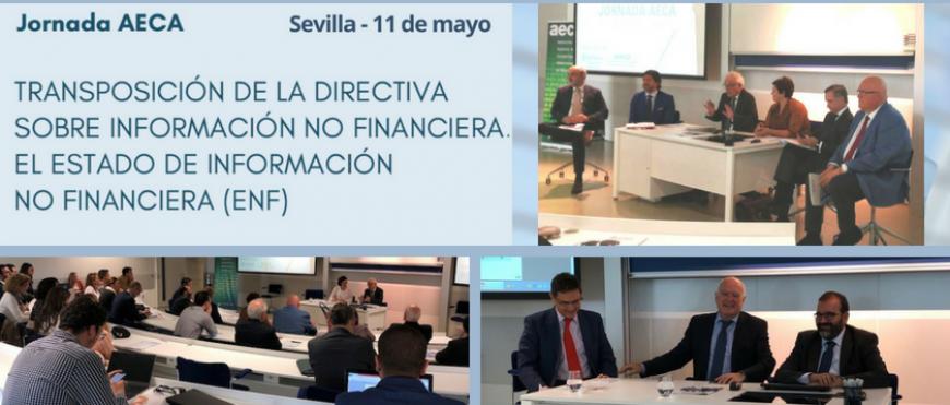 Jornada de AECA y Loyola sobre la Transposición de la Directiva Europea de Información no Financiera