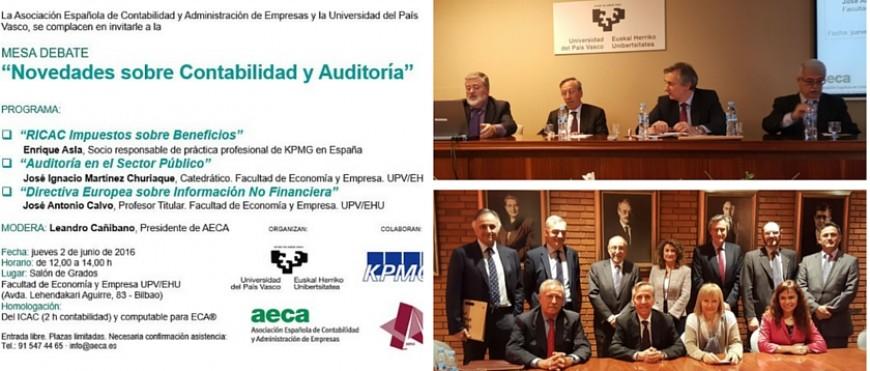 AECA debate las últimas novedades en contabilidad y auditoría