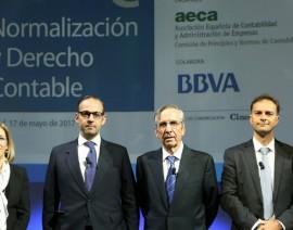 AECA debate sobre la Normalización y el Derecho Contable