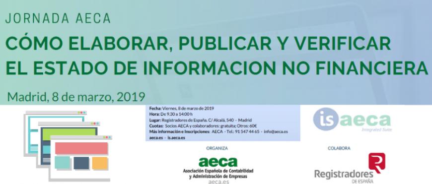 Jornada 8 Marzo – Cómo elaborar,publicar y verificar el Estado de Información No Financiera
