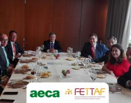 AECA y FETTAF impulsan su acuerdo de colaboración en materia de Acreditaciones Profesionales en Contabilidad