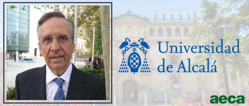 Leandro Cañibano, Doctor Honoris Causa por la Universidad de Alcalá