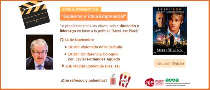 """Cine & Management """"Gobierno y ética empresarial"""" (14 noviembre)"""