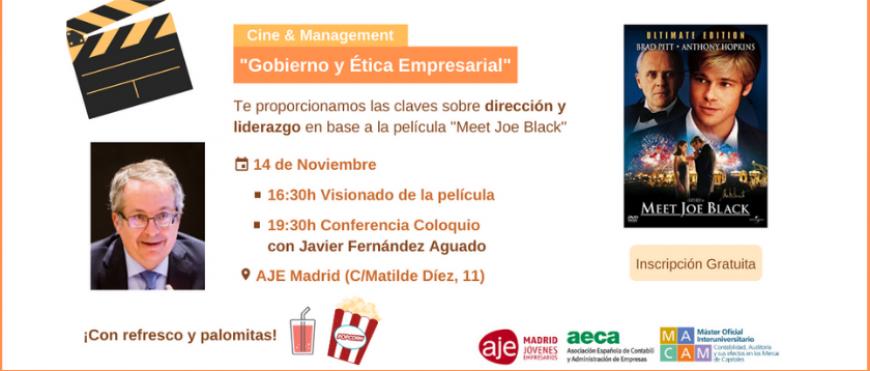 """Cine & Management «Gobierno y ética empresarial"""" (14 noviembre)"""