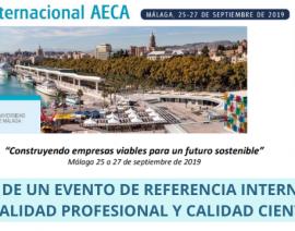 CRÓNICA -XX Congreso Inter. AECA  Málaga'19