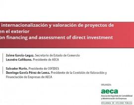 Financiación de la internacionalización y valoración de proyectos de inversión directa en el exterior (16/6/2016)