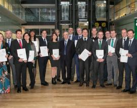 Acto de entrega de Diplomas a Expertos Contables Acreditados-ECA® 2018 en España