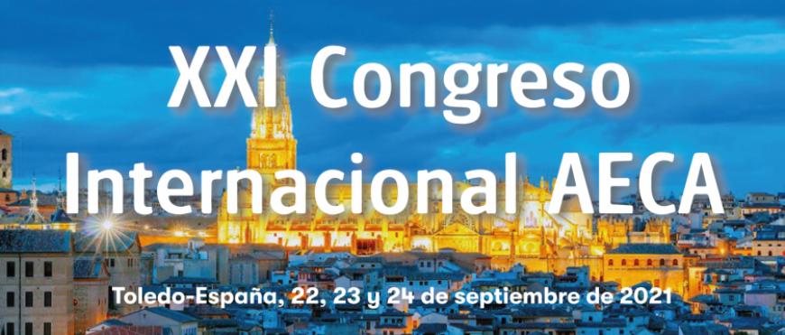 Arranca el XXI Congreso Internacional de AECA la próxima semana en Toledo