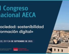 Principales magnitudes y Crónica del #XXICongresoAECA