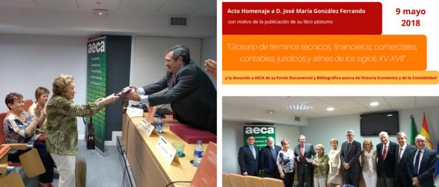 Acto Homenaje a D. José María González Ferrando