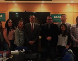 Visita a AECA de una delegación de la Universidad ITSON de Sonora-México