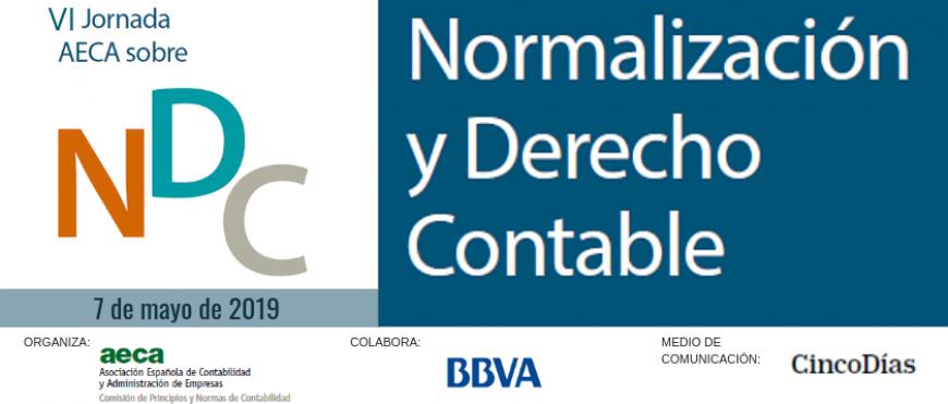 VI Jornada sobre Normalización y Derecho Contable