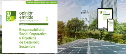 Opinión emitida: RSC y Objetivos de Desarrollo Sostenible