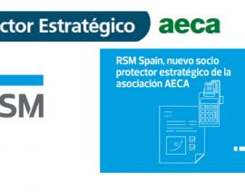 RSM Spain, nuevo socio protector estratégico de AECA