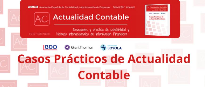 """Nueva publicación """"Casos prácticos de Actualidad Contable"""""""