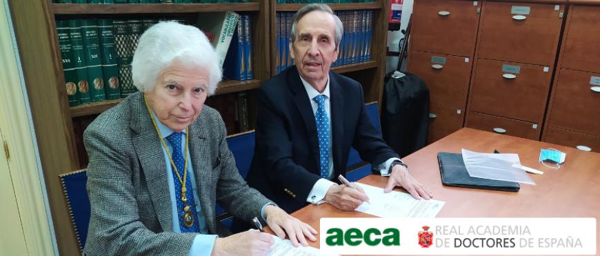 AECA y la RADE suscriben un convenio de colaboración