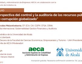 Conferencia-coloquio en la Universidad de Alcalá el 6 de junio'19