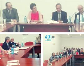 Conferencia-coloquio de AECA en la Universidad de Alcalá