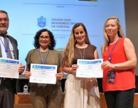 Entrega de diplomas CDCC Research Workshops XVIII Encuentro Internacional AECA
