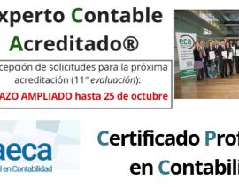 Próxima evaluación de las acreditaciones ECA® y CPC-AECA