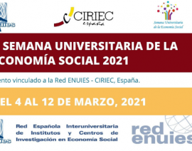 AECA colabora en la II Semana Universitaria de la Economía Social 2021