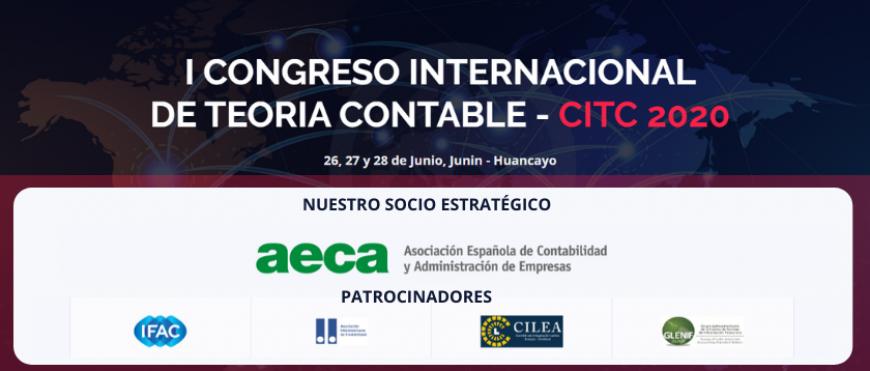 I Congreso Internacional de Teoría Contable 2020