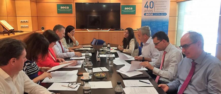 Jóvenes investigadores en las Comisiones de estudio de AECA