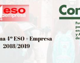 La Fundación Contea presenta el programa 4ªESO+Empresa 2018/2019