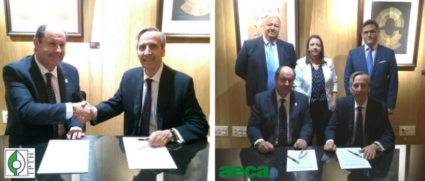 AECA suscribe un convenio de colaboración con la Asociación de Técnicos Profesionales Tributarios de Huelva