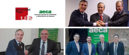 Nuevos convenios institucionales de colaboración suscritos por AECA