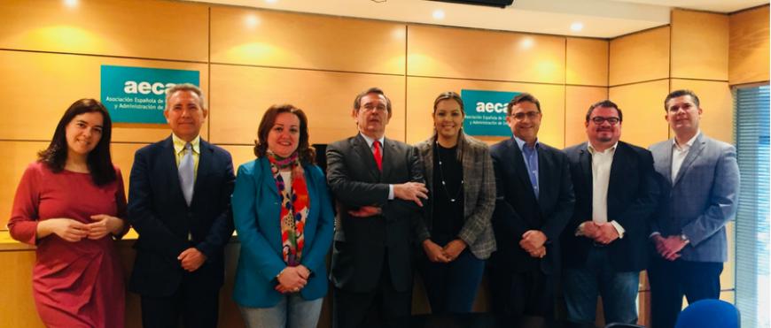Visita a AECA de una delegación de ITSON- Instituto Tecnológico de Sonora (campus Obregón)