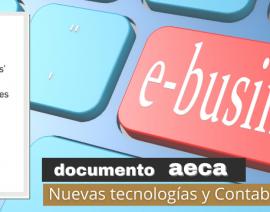 """Nuevo Documento AECA: """"El 'e-business' en las organizaciones"""""""