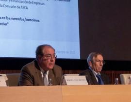 Presentación de la «Cátedra AECA-ABANCA de Economía, Finanzas y ADE»